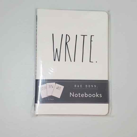 New Rae Dunn Notebooks